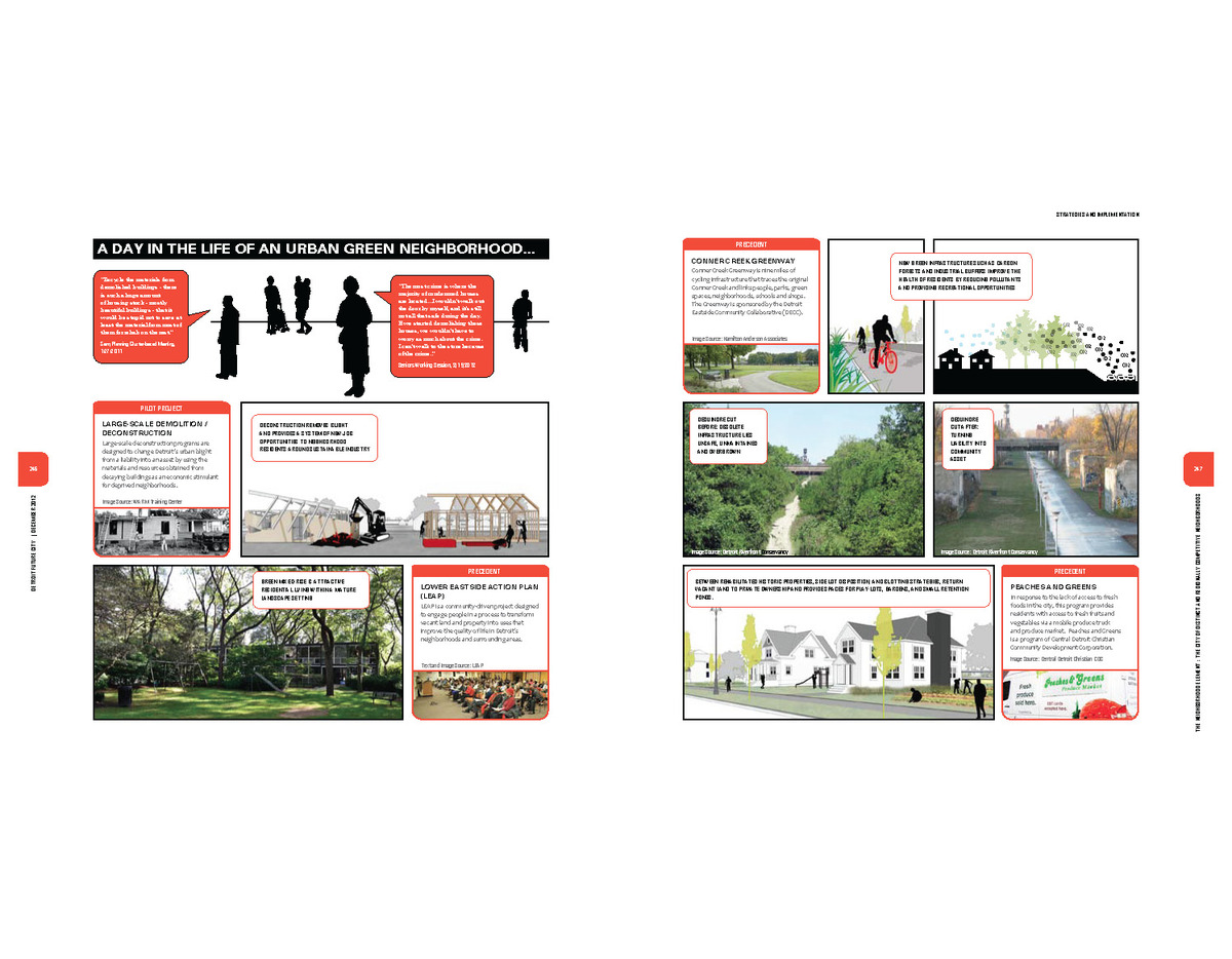 Designed layout and ideas for visual stories.