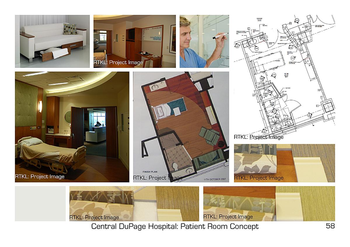 Bed Pavilion Patient Rooms.