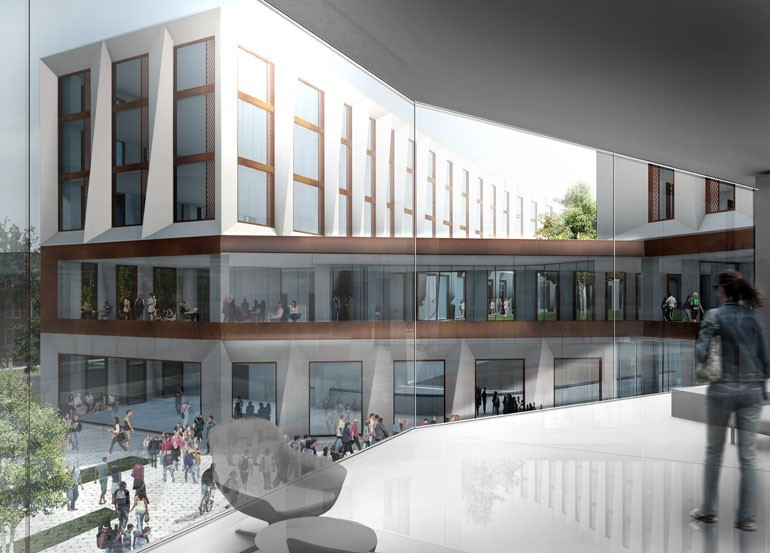 The Community Commons will offer clear, panoramic views