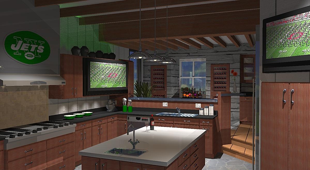 Interior Design, Kitchen, Millerton House