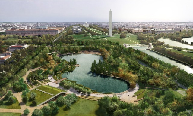 Nelson Byrd Woltz Landscape Architect + Paul Murdoch Architects for Constitution Gardens