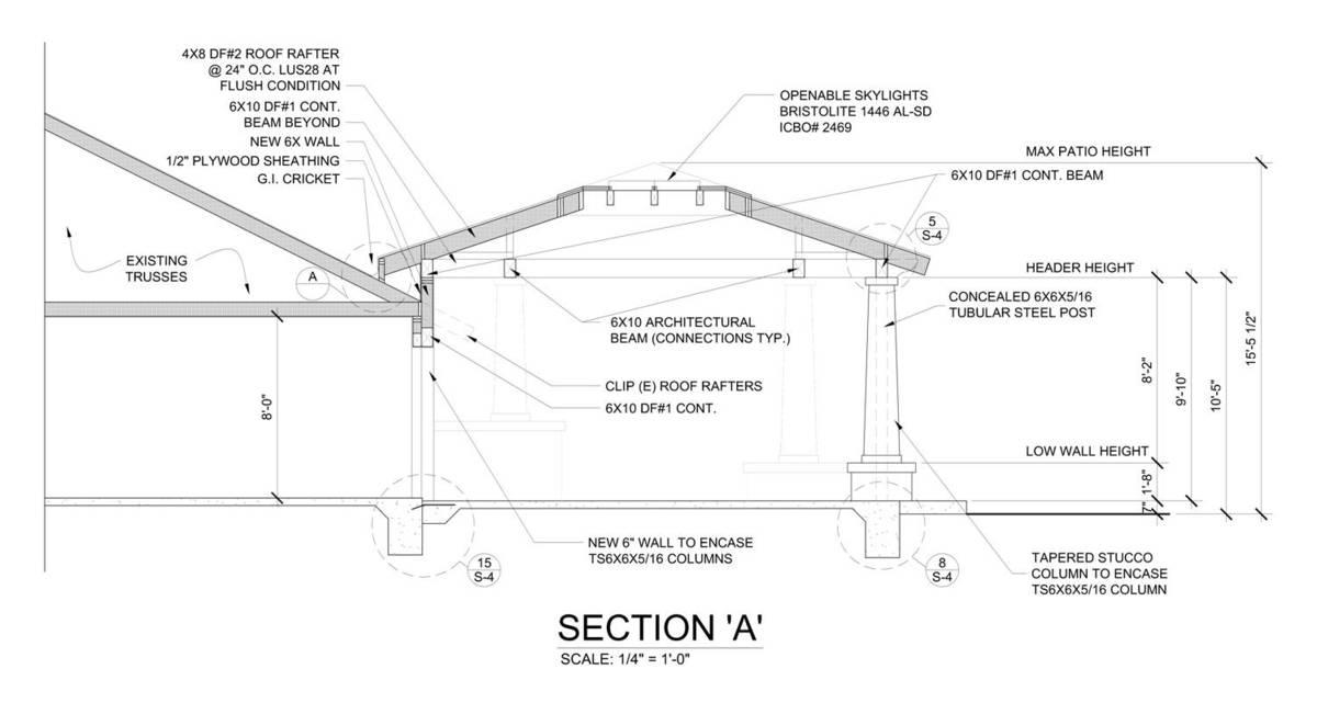 Pavilion Section 'A'
