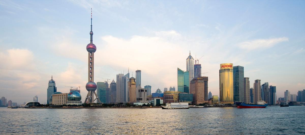 Shanghai Landmark Center, Shanghai, China - Shanghai Cityscape