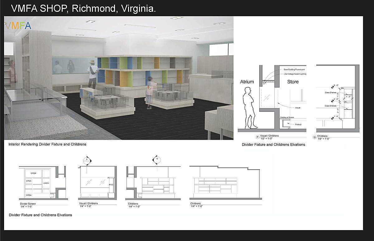 Retail Shop for Virginia Museum of Fine Arts
