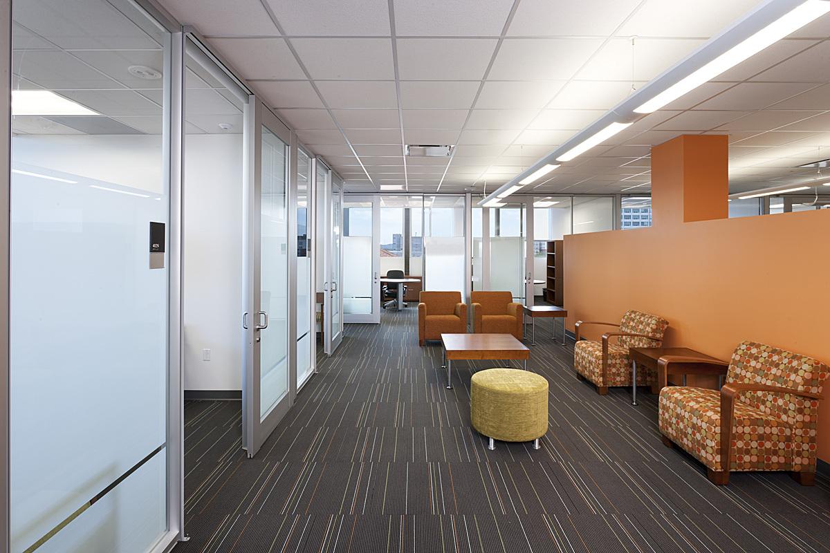 renovated departmental space