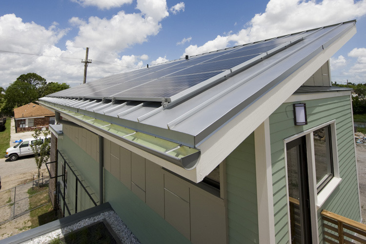 GreeN.O.LA Solar Panels. Photo: Max Kim-Bee