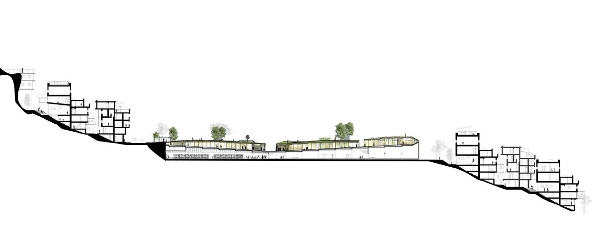 community center / park - section