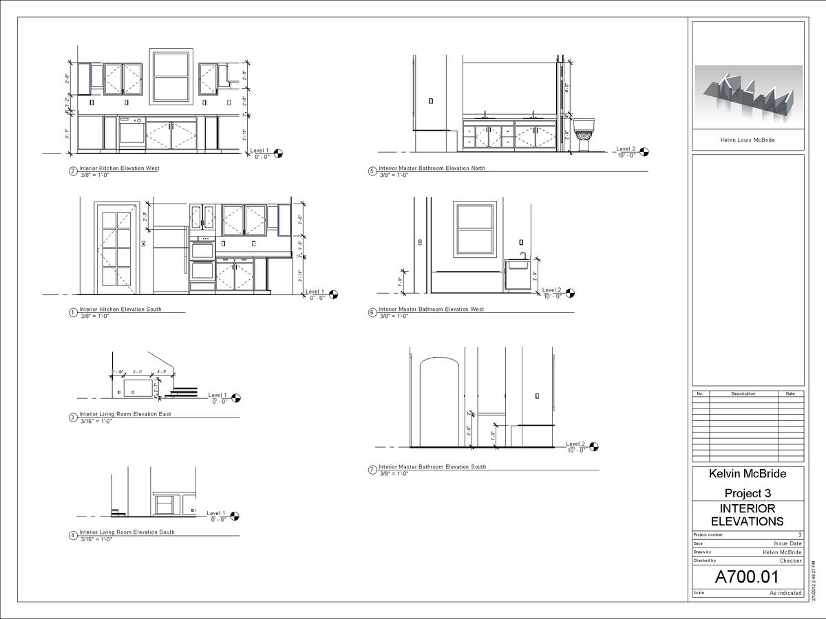 A700-01 - Interior Elevations