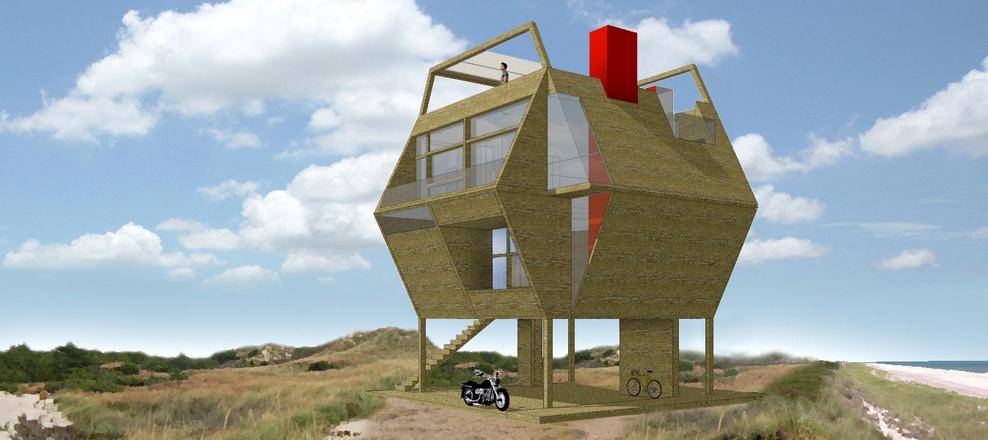 Hexagon House - © 2015 Andrea Salvini