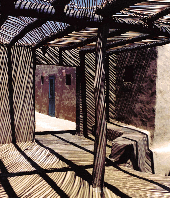 Dakhleh Excavation House in Dakhleh, Egypt by Utopus Studio