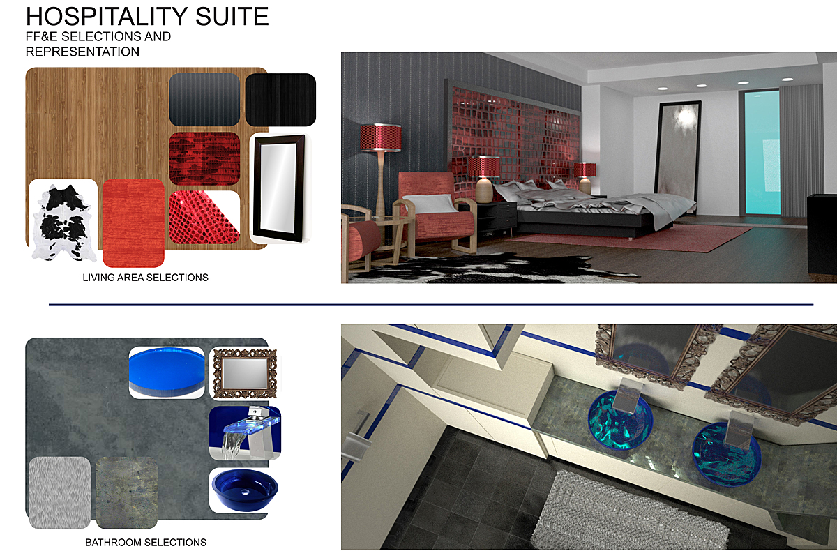 Interior Renderings and Finishes