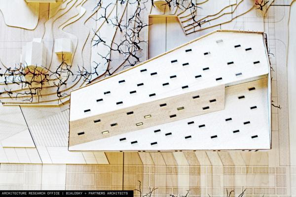 Bialosky + ARO proposal for new KSU building