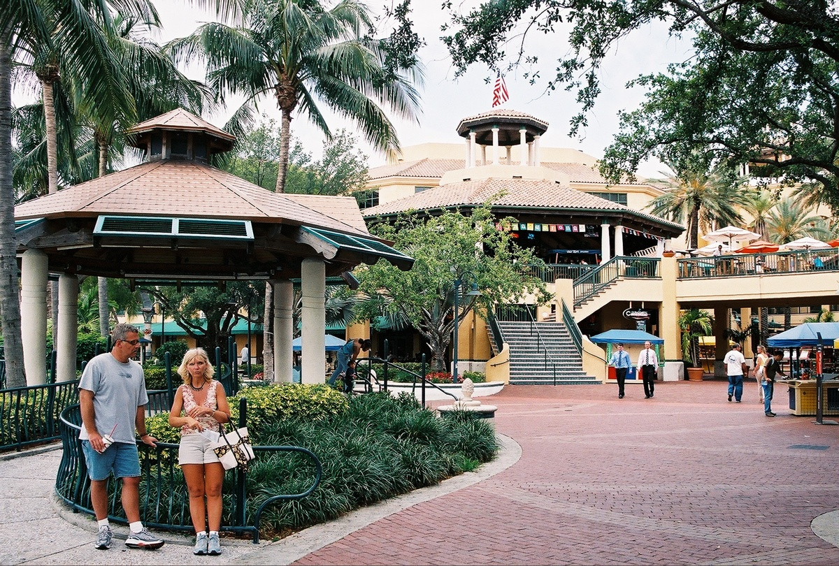 Pavilions along Riverwalk