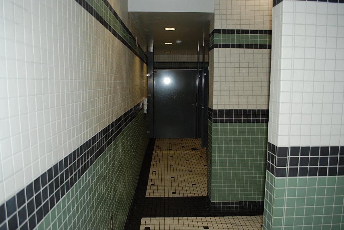 4th floor restrooms before renovation