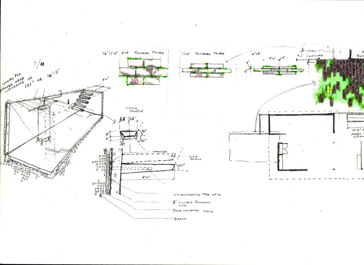 core and landscape paver study