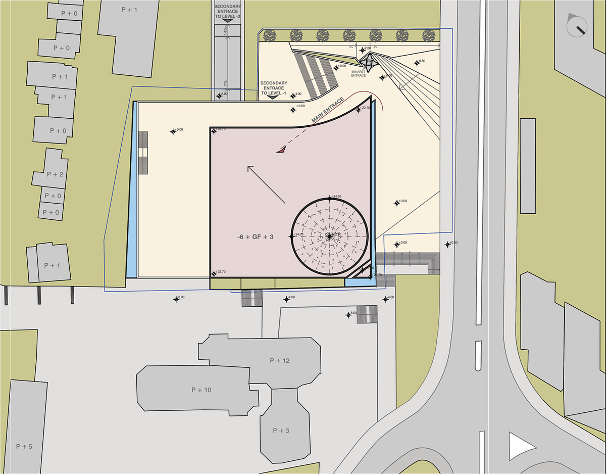 Site plan (Image: Maden&Co)