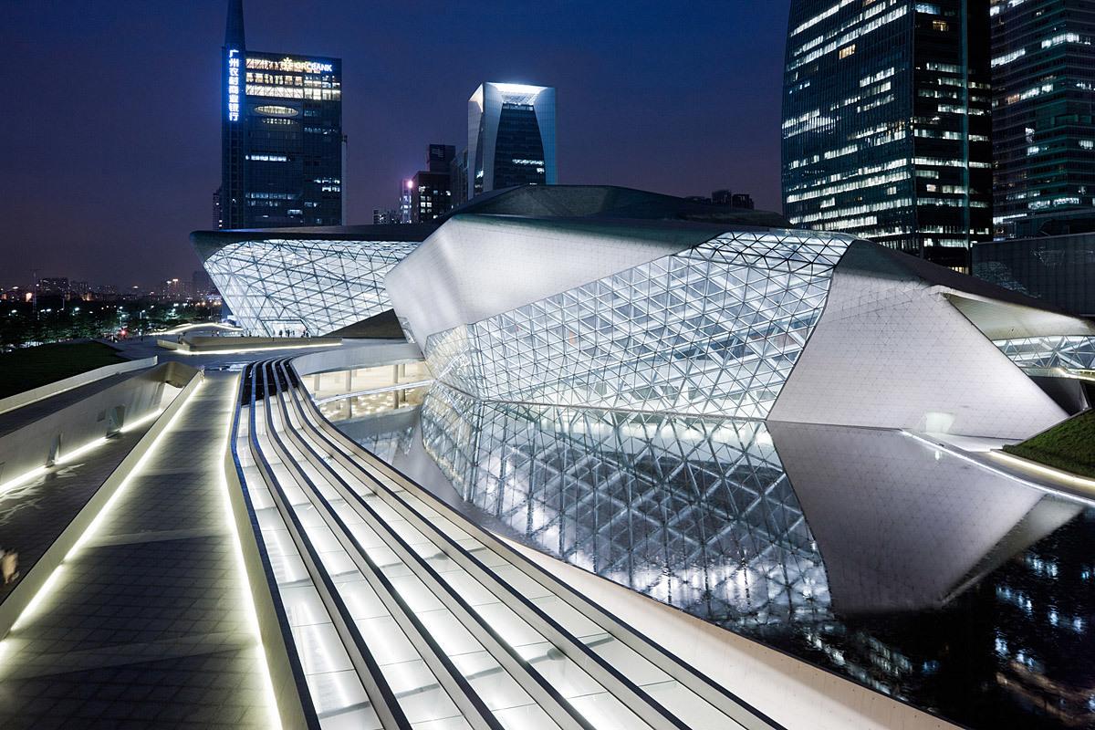 Guangzhou Opera House in Guangzhou, China (Photo: Iwan Baan)