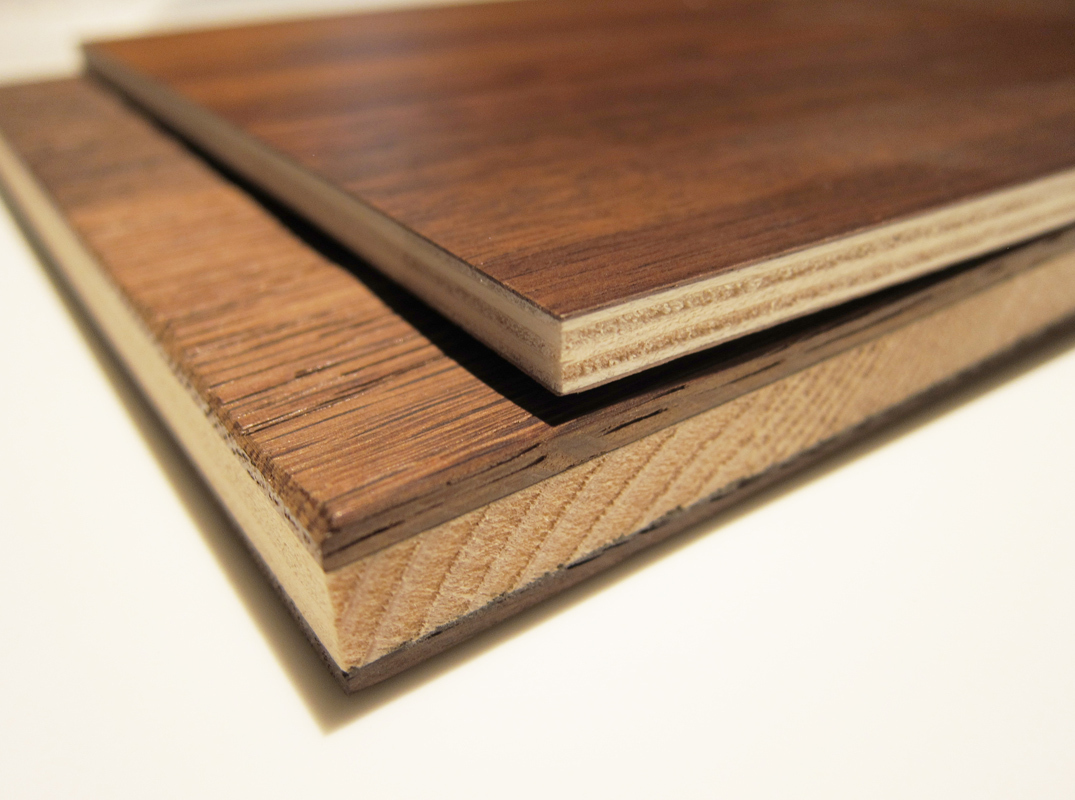 These 4 millimeters = 0.15 inches wood doors are stronger enough to be used as countertops