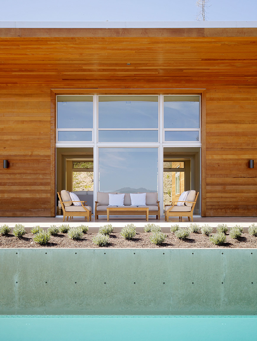 Whitehall Lane in St Helena, CA by Dowling Studios