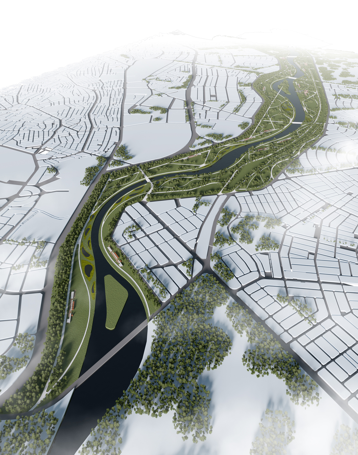023 – AERIAL VIEW - Image Courtesy of ONZ Architects & MDesign