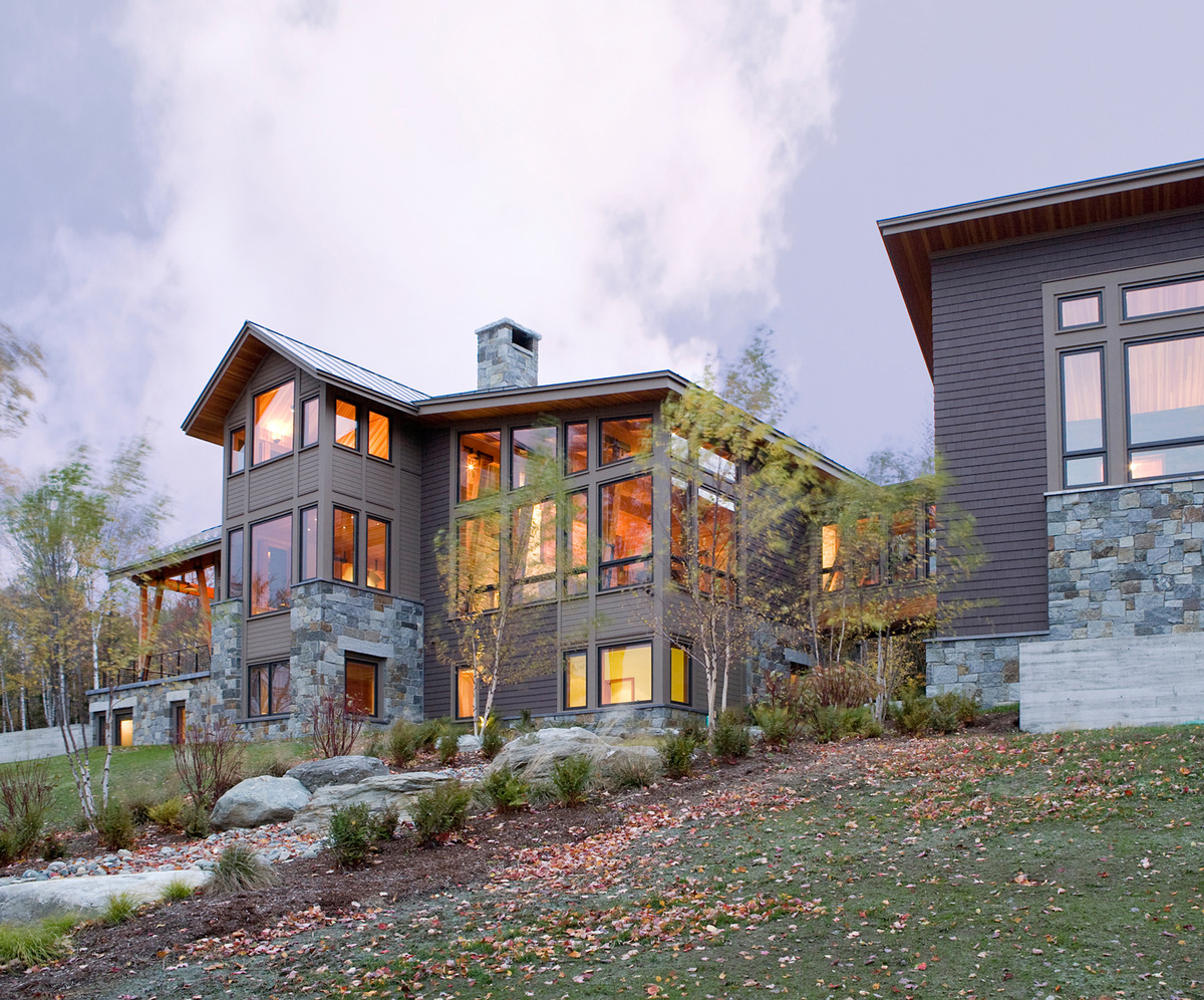 Vermont Mountain House by Stowe, Vermont by MGA | Marcus Gleysteen Architects