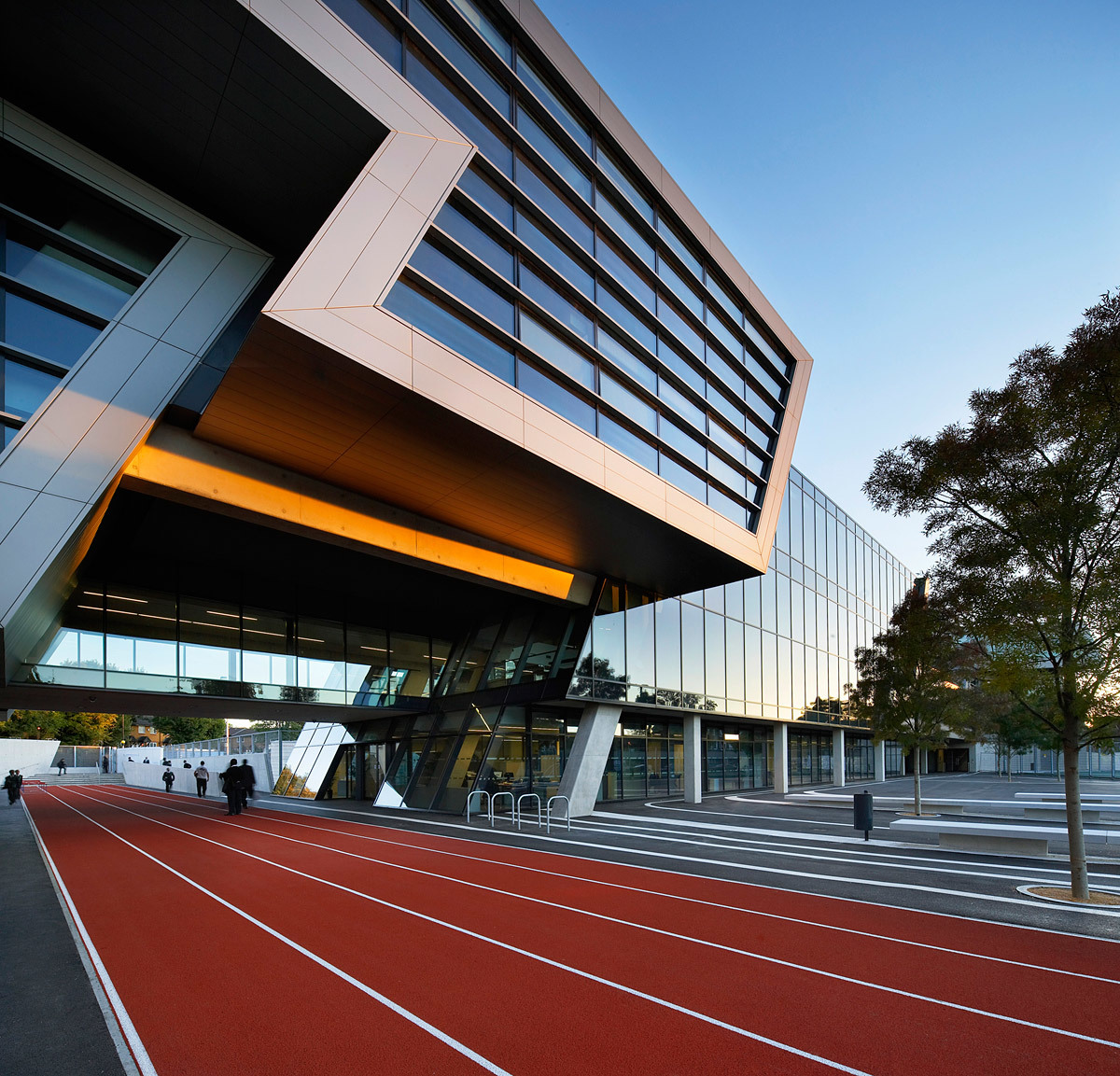 Stirling Prize Winner: Evelyn Grace Academy by Zaha Hadid Architects (Photo: Hufton+Crow)