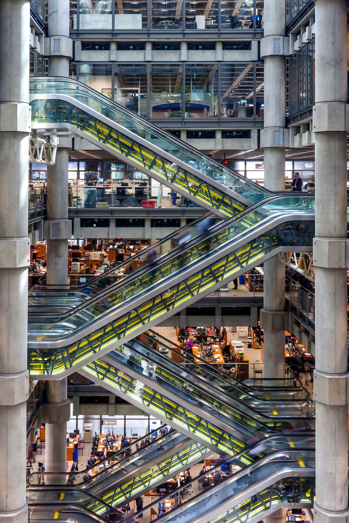 Lloyds of London by Rogers Stirk Harbour and Partners ©Paul Raftery