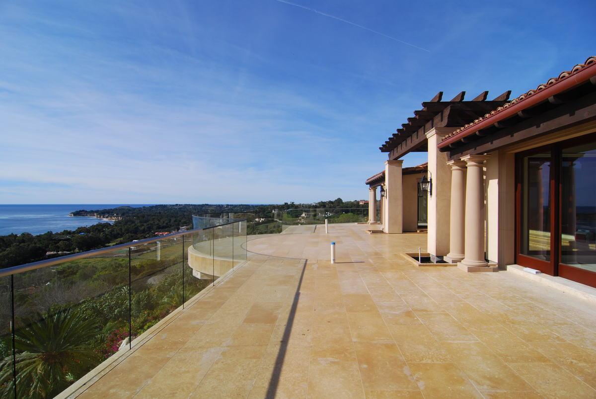Deck Overlooking Ocean - Completed Project