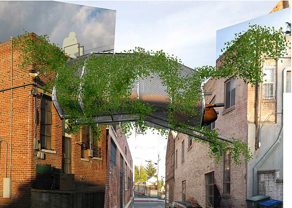 alley configuration, for ninjas