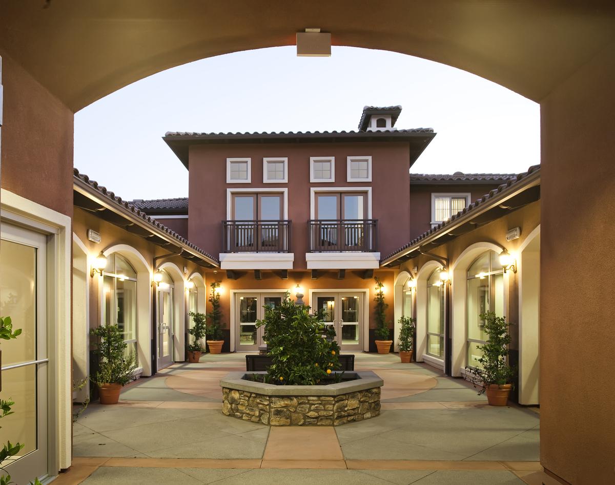 Community Center Courtyard