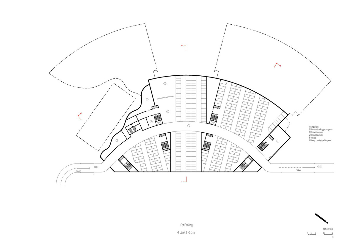 Plan, ground level (Image: Architecton)