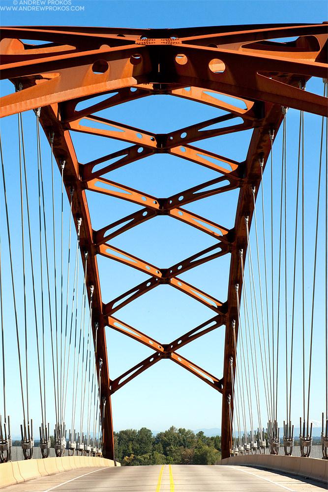 Sauvie Island Bridge, Portland, OR © Andrew Prokos