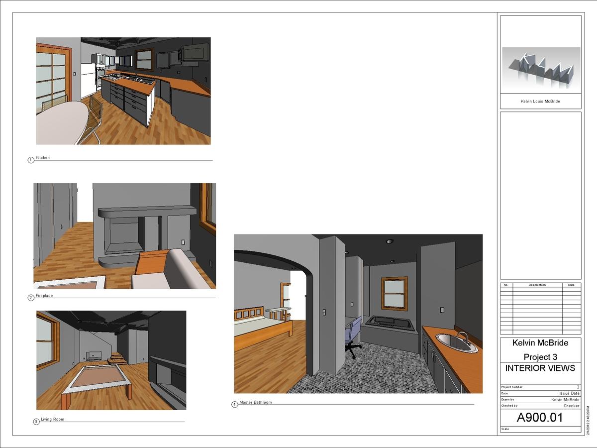 A900-01 - Interior Views