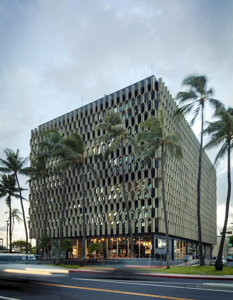 IBM building - Honolulu Hawaii.