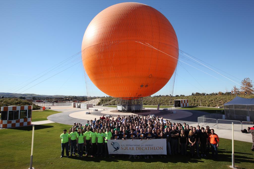 Solar Decathlon 2013 Team Photo. Courtesy of U.S. Department of Energy.
