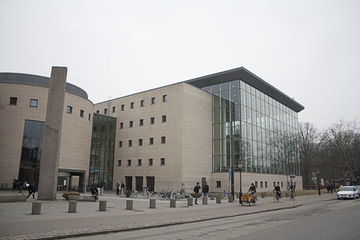 Exterior of Malmö City Library, Henning Larsen Architects