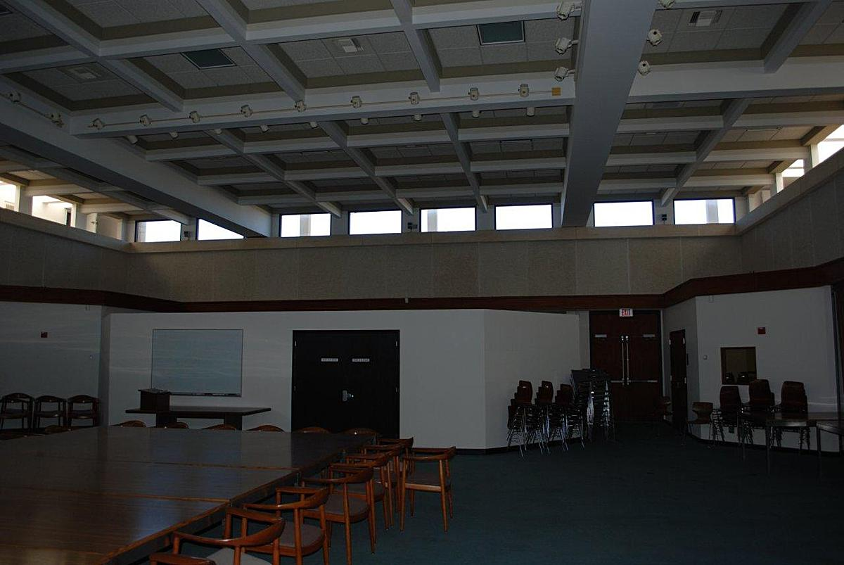 4th floor atrium meeting room before renovation