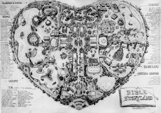 The park map for the never-built