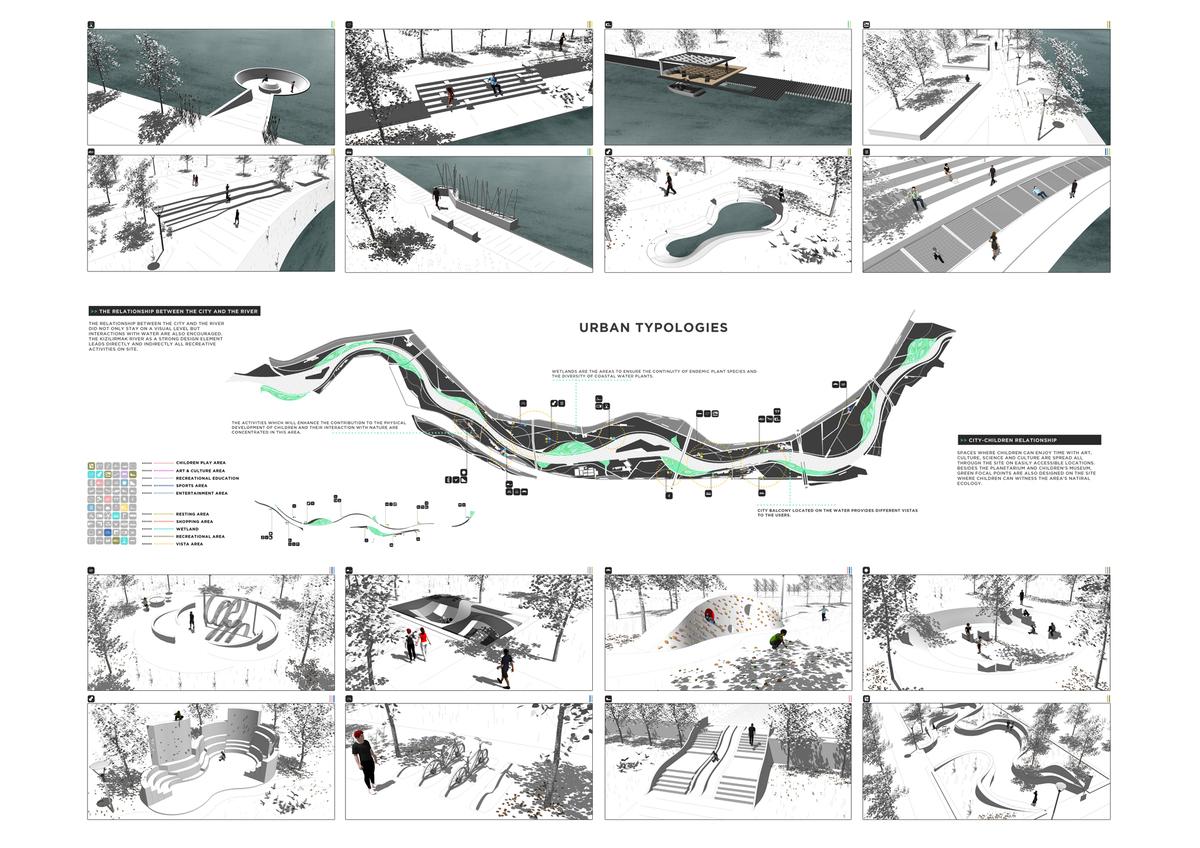 052 – URBAN IDENTITY | CITY-WATER & CITY-CHILDREN - Image Courtesy of ONZ Architects & MDesign