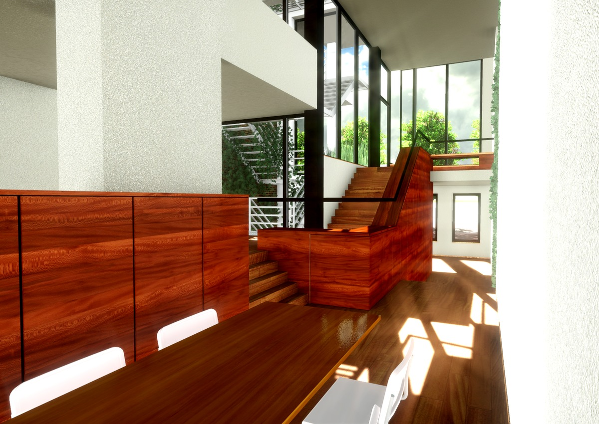 Writer's Home Interior View