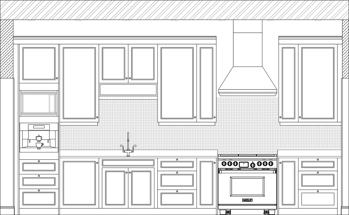 Front Elevation Kitchen : Delighful kitchen design elevations elevation inside in