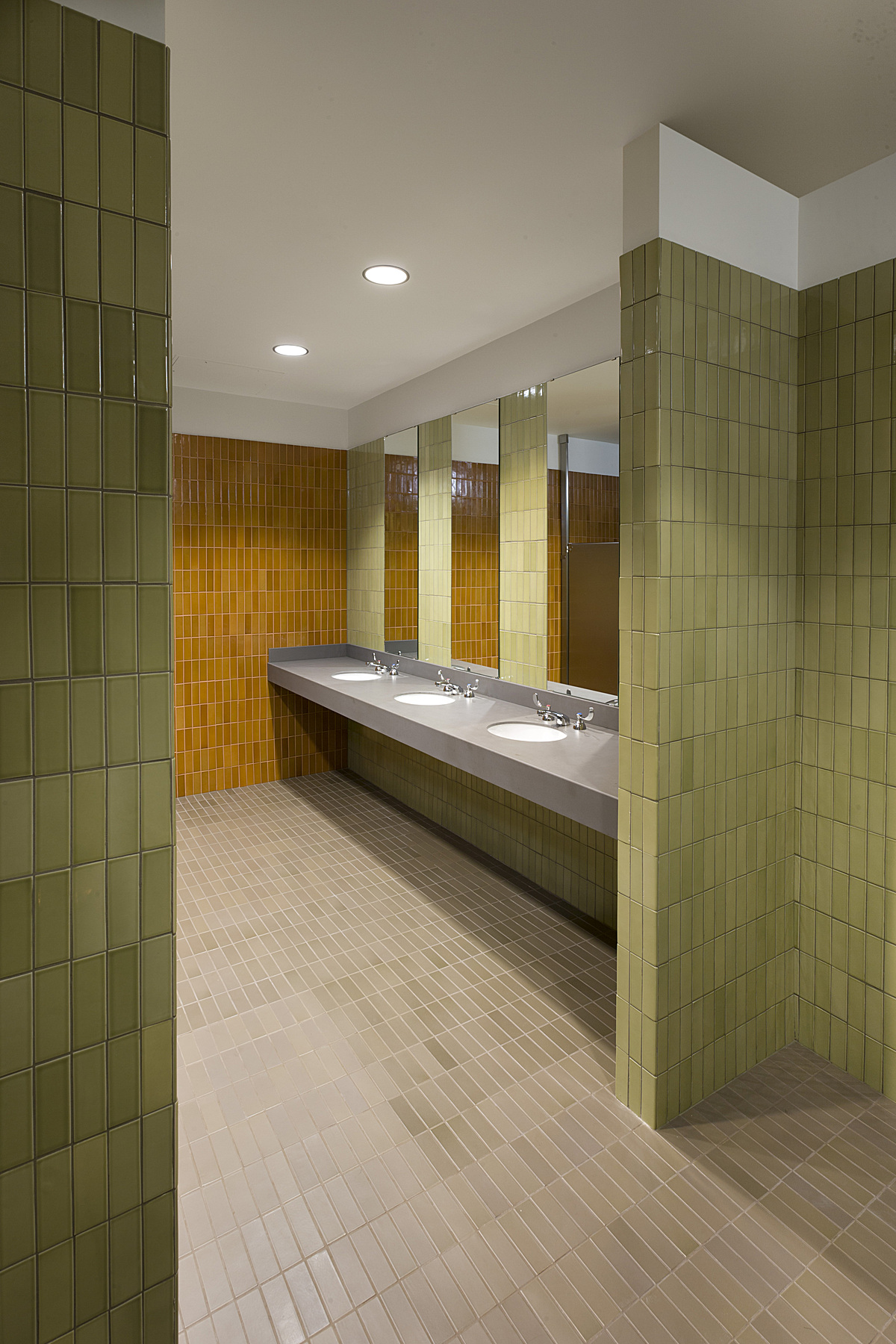 new women's restroom
