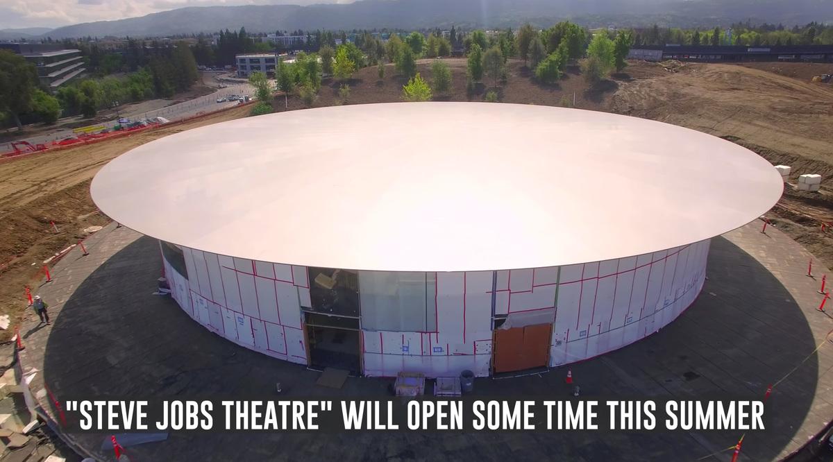 Screenshot of the 4K drone video.