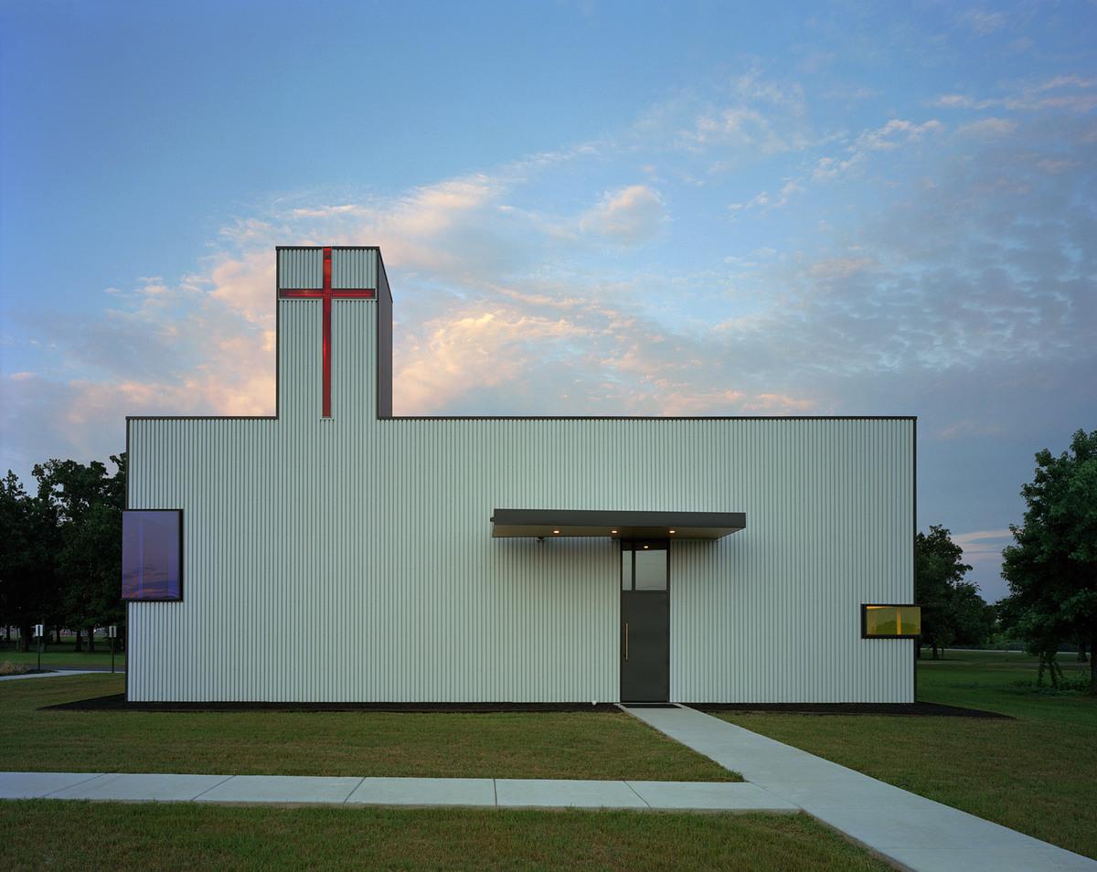 Saint Nicholas Eastern Orthodox Church; Springdale, AR (Photo: Timothy Hursley)