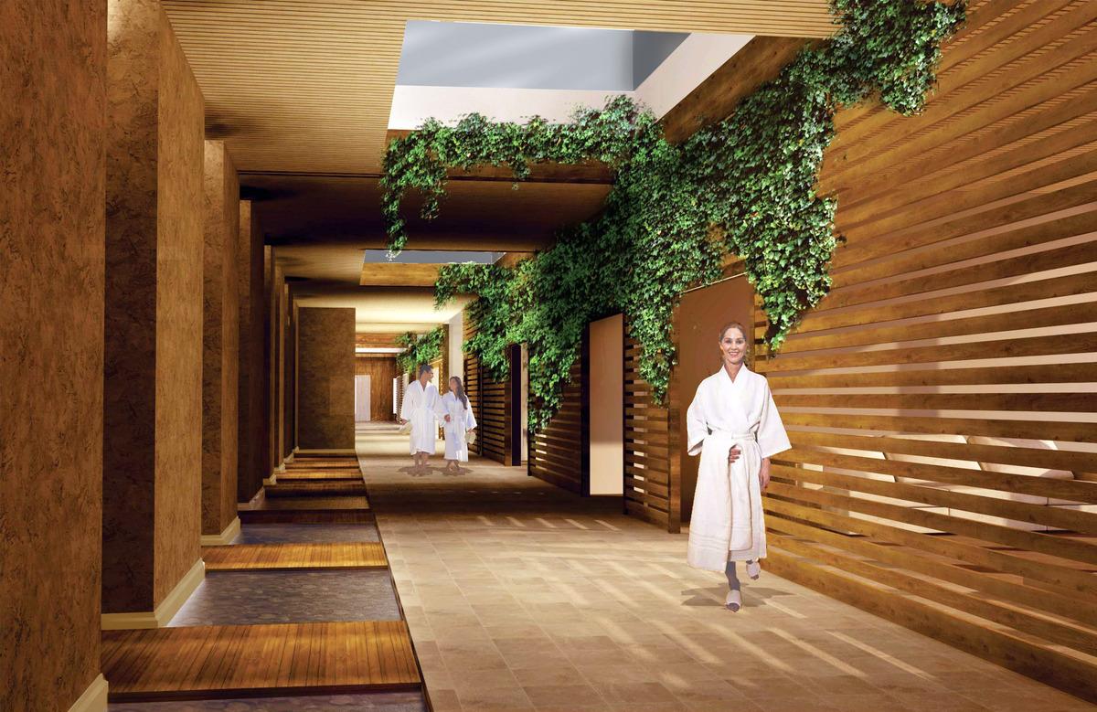 Treatment Hallway