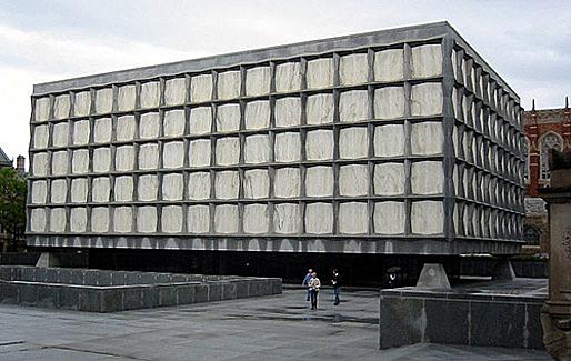 Beineke Library, Yale University