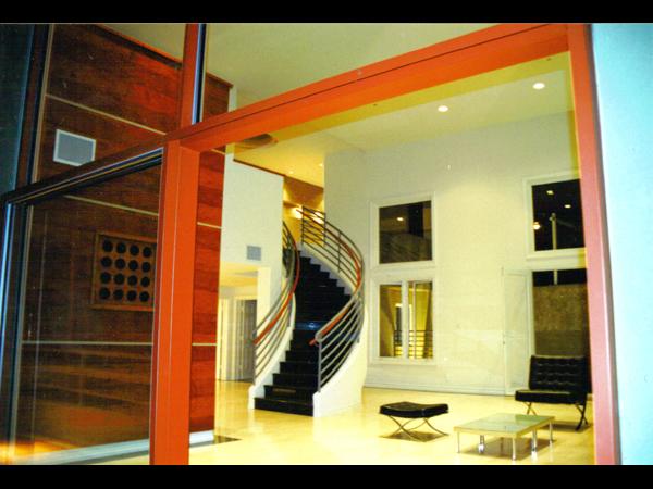 Structural 15' sliding door
