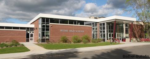 Bethel High School new front entrance.