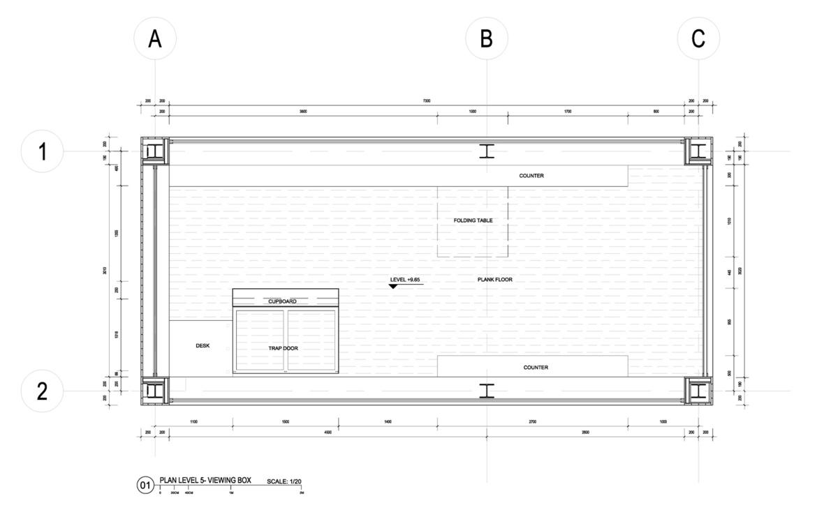 Floor plan, viewing box