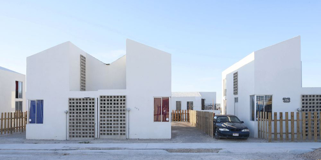 Tatiana Bilbao ESTUDIO, Acuña Sustainable House in Acuña, Mexico, 2015. Photo by Iwan Baan, via archleague.org.